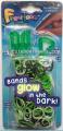 Finger Loom (Green Colour) 綠色迷你編織+夜光橡筋