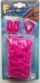 Finger Loom (Pink Colour) 粉紅迷你編織+橡筋